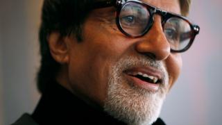 Indian actor Amitabh Bachchan