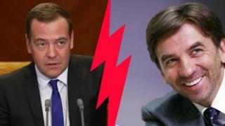Бывшие коллеги и приятели Медведев и Абызов больше не друзья онлайн