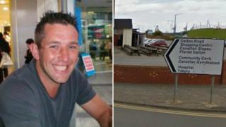 Marcus Sheppard died in the Dalton Road area of the Sandfields estate