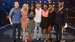 Simon Cowell and acts