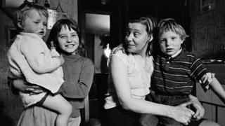 Mrs Tandy and her family, Sheffield 1969