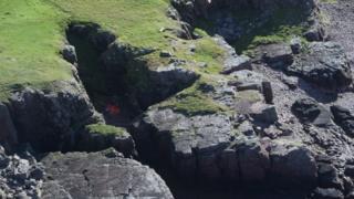 litter on west coast, near Loch Torridon