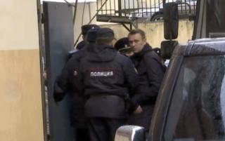 Алексей Навальный в Тверском суде Москвы