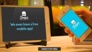 screen grab of Swipii website