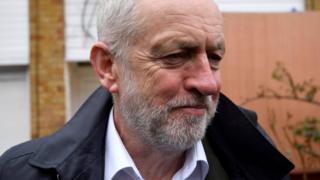 Newspaper headlines: Corbyn 'backs referendum' amid party rows