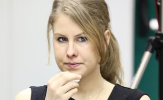 Любовь Соболь на заседании координационного совета оппозиции 16 марта 2013 года