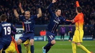 Wata haduwa da PSG ta karbi bakuncin Barcelona a Paris, a gasar Zakarun Turai