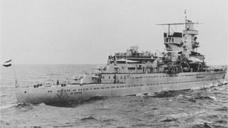 foto del bacro HNLMS De Ruyter