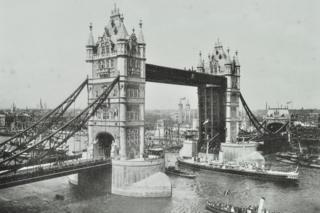 Tower Bridge opening day 1894