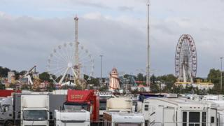 Nottingham's Goose Fair at the Forest Recreation Ground