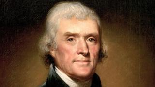 Portrait of Thomas Jefferson by Rembrandt Peale