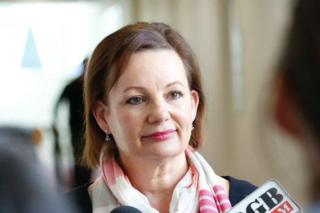 Sussan Ley has resigned as Australia's health minister