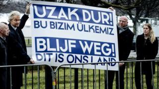 Hollanda'da aşırı sağcı Özgürlük Partisi'nin (PVV) lideri Geert Wilders