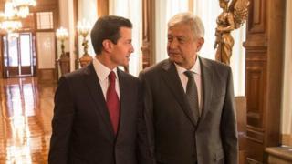 Enrique Peña Nieto y Andrés Manuel López Obrador