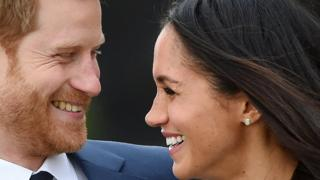 Prince Harry and Meghan Markle (27 November 2017)