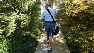 US postal worker