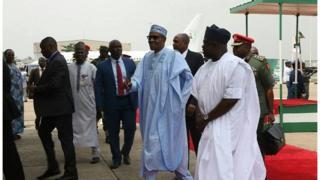 President Muhammadu Buhari don give marching order to clear Apapa traffic within days