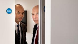 Chuka Umunna and Vince Cable