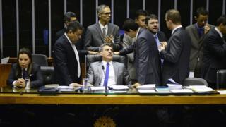 Romero Jucá no Senado
