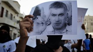 نبيل رجب يقضي حاليا حكما بالسجن مدته عامان