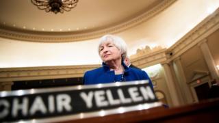 Чинна голова Федерального резерву США Джанет Єллен керує відомством із 2014 року - на посаду її призначав ще попередній президент Барак Обама