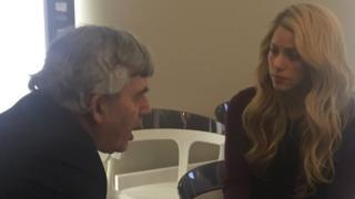 Gordon Brown and Shakira