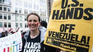 व्हेनेझुएला, अमेरिका, रशिया