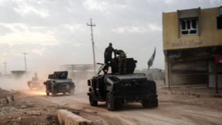 پیشروی نیروهای عراقی در نزدیکی بزوایا در روز 31 اکتبر