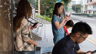 Penduduk Singapura di Balestier Road