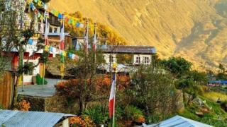 尼泊爾村莊(圖片來源:Amrit Sharma)