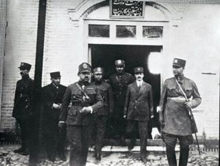 امانالله خان و رضا شاه