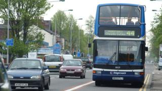 environment Stagecoach bus
