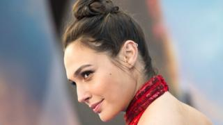 Wonder Woman galasında Gal Gadot