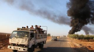 شورشیان مخالف در ماه اوت گذشته به پیشرفت هایی در استان حماه دست یافتند
