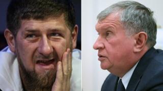 Кадыров и Сечин
