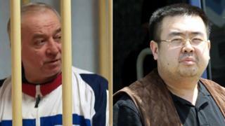 Sergei Skripal/Kim Jong-nam