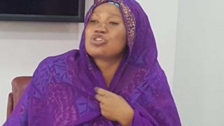 Matar da ake zargin tana yi wa Aisha Buhari sojan gona