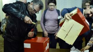 Подсчет голосов
