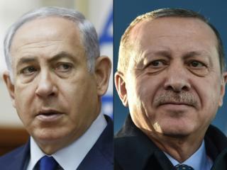 رجب طیب اردوغان و بنیامین نتانیاهو