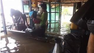 တနင်္သာရီတိုင်း၊ မြိတ်ခရိုင်၊ တနင်္သာရီမြို့နယ်မှာ မိုးအဆက်မပြတ်ရွာနေတာကြောင့် ငါးနှစ်ကျော်မှာ ပြန်လည်ရေကြီး