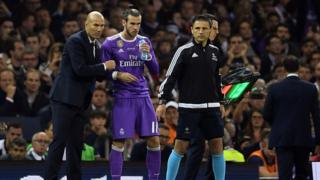Zidane a Bale