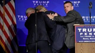 Trump n'abamurinda