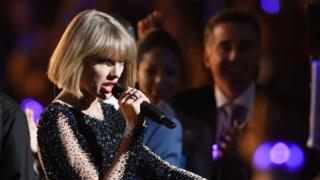 Taylor Swift dey sing for Grammy