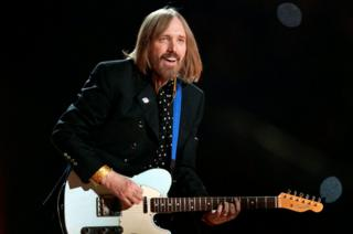 Singer Tom Petty and the Heartbreakers performs in February 2008