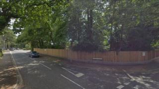 Wharncliffe Road near the Lymington Road