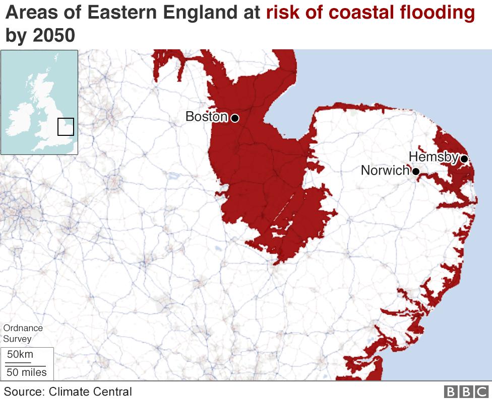 Coastal floods warning in UK as sea ranges upward thrust thumbnail