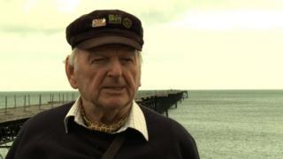 Queen's Pier campaigner, Tom Durrant