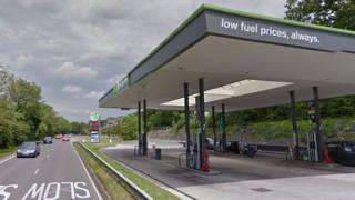 Applegreen service station