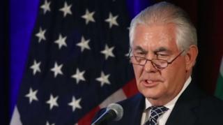 นายเร็กซ์ ทิลเลอร์สัน ชูประเด็นความกังวลเกี่ยวกับอิหร่าน ในฐานะ 'รัฐที่สนับสนุนการก่อการร้าย'