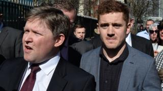 Joe McVeigh and Paddy Jackson